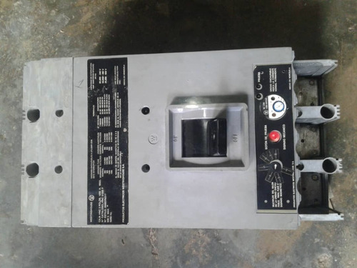 breakers industrial 3x1200 amp marca westinghouse