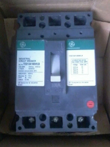 breakers trifasico 100amp, 150amp, 200amp general electric