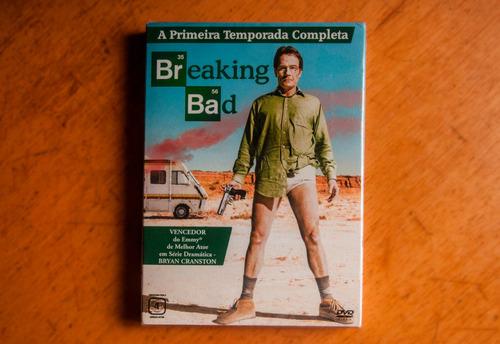 breaking bad - 1ª temporada (dvd)