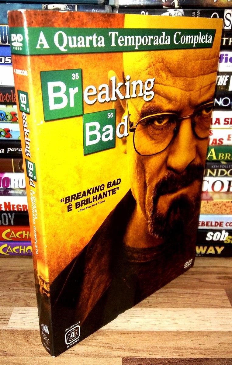 Breaking Bad - 4ª Quarta Temporada - Dvds - Luva - Coleção - R$ 18 ...