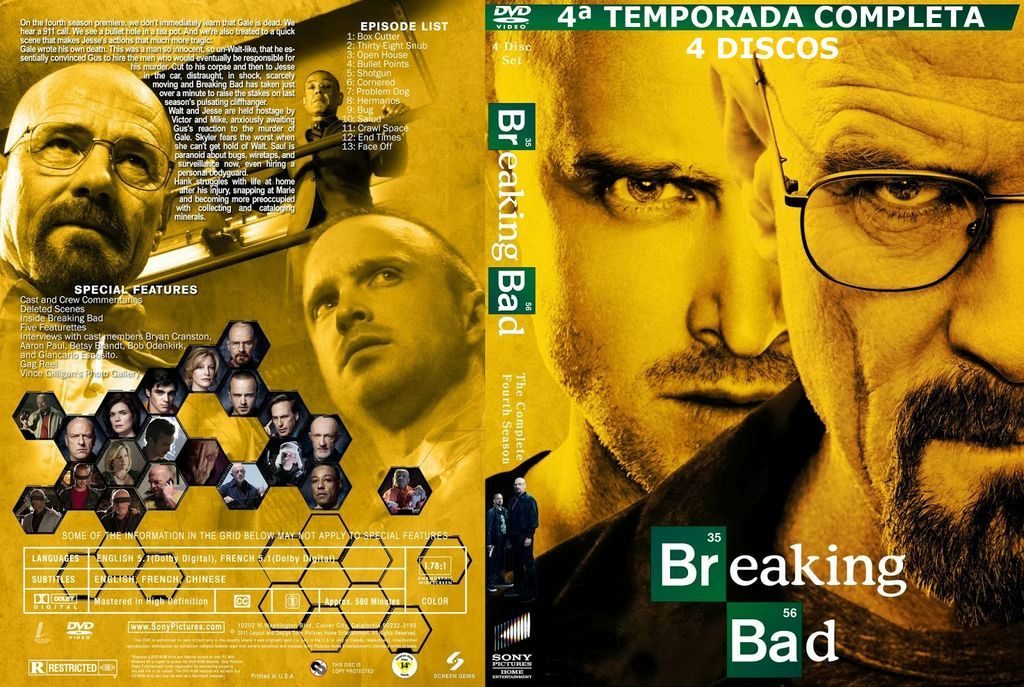 Breaking Bad 4ª Temporada - $ 100,00 en Mercado Libre