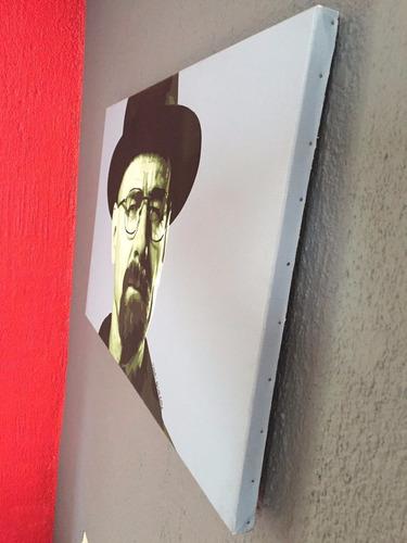 breaking bad cuadro pintura oleo heisenberg