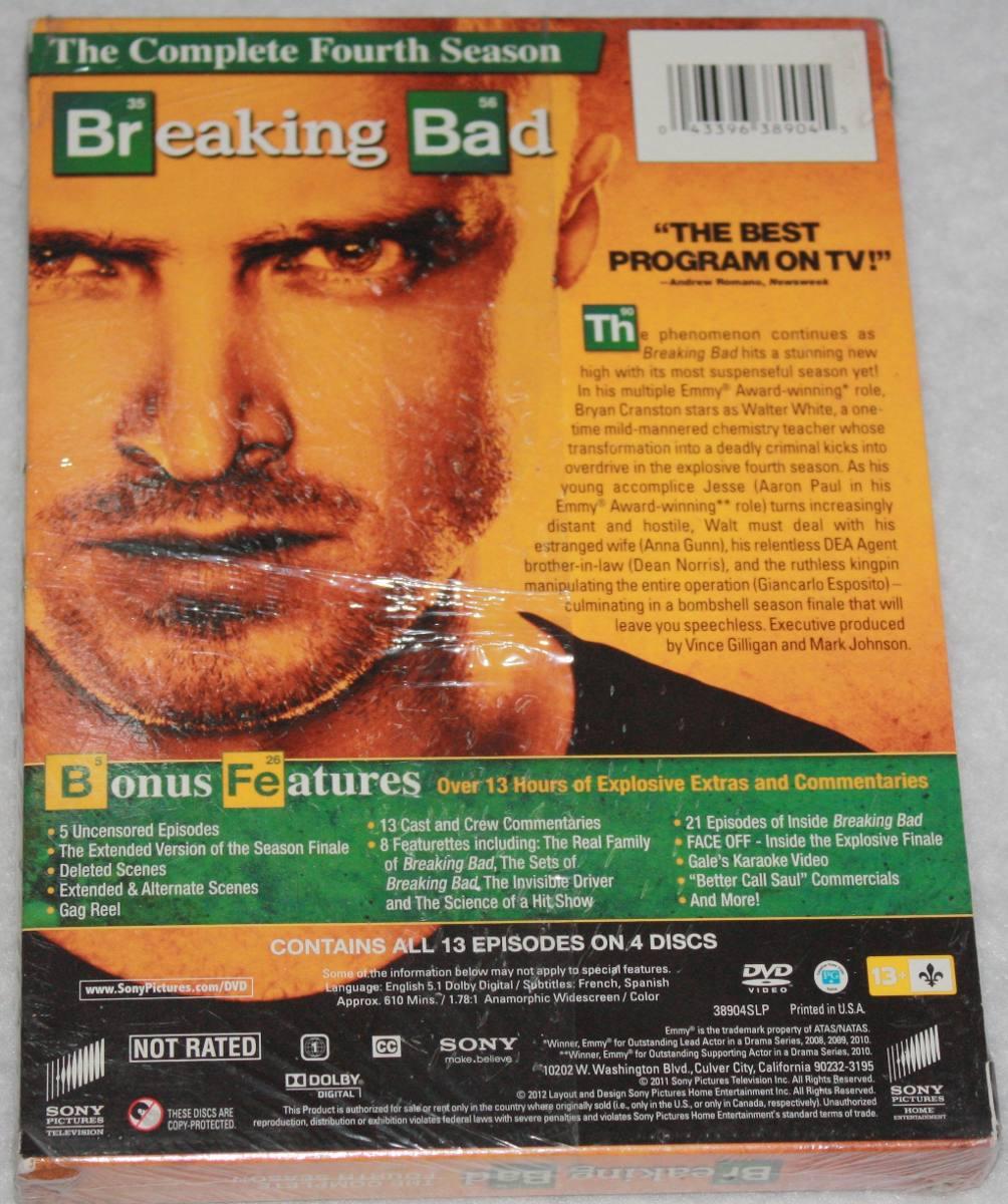 Breaking Bad. Cuarta. Temporada. Serie De Tv Nueva