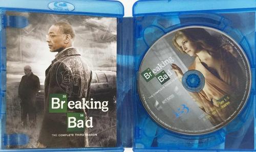 breaking bad temporada 3 blu ray - original