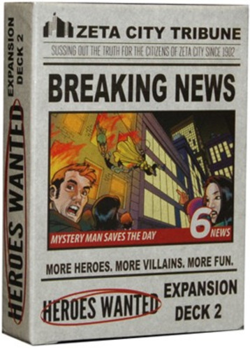 breaking news - expansão jogo heroes wanted action phase