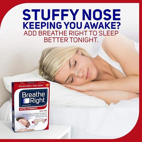 breathe right tiras nasales dejar de roncar 44 uds