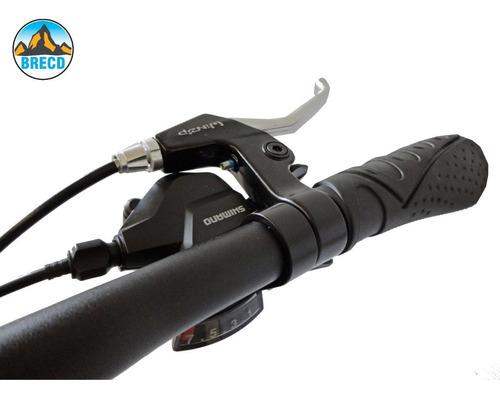 brecd - bicicleta plegable con cambios y frenos shimano