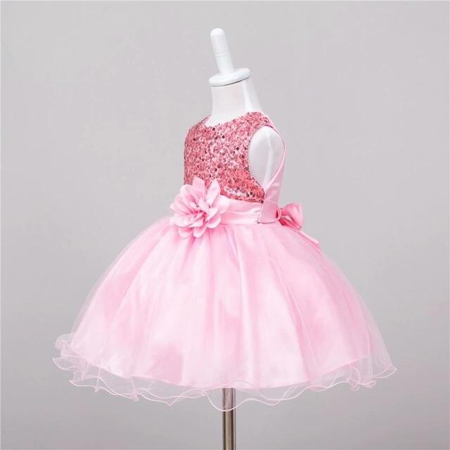 ce483f402ad Brecho Online - Bazar Infantil - Vestido Festa Luxo Infantil - R  79 ...