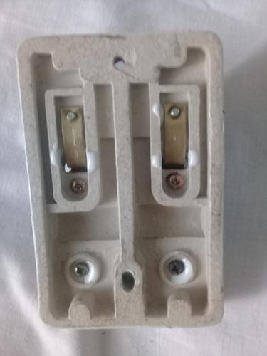 brecker interruptor antiguo 110 voltios fusible segunda mano