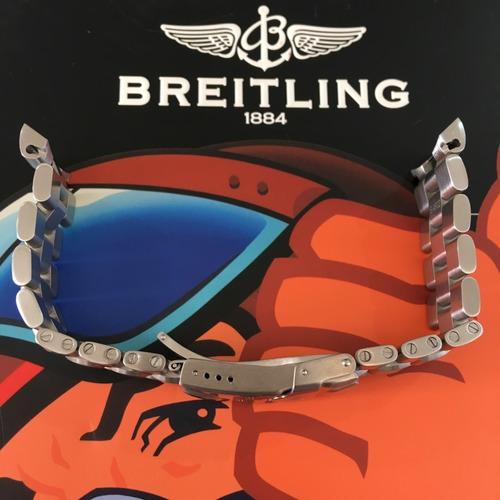 breilting pulseira aço 879a/s4602 100% original encaixe 20mm