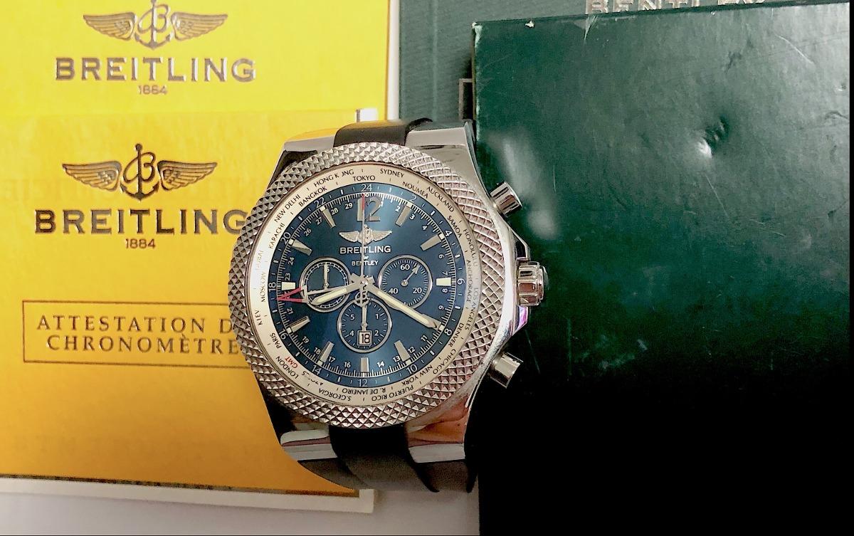 4f3b93ebcb4 Breitling Bentley Motors Gmt 49mm