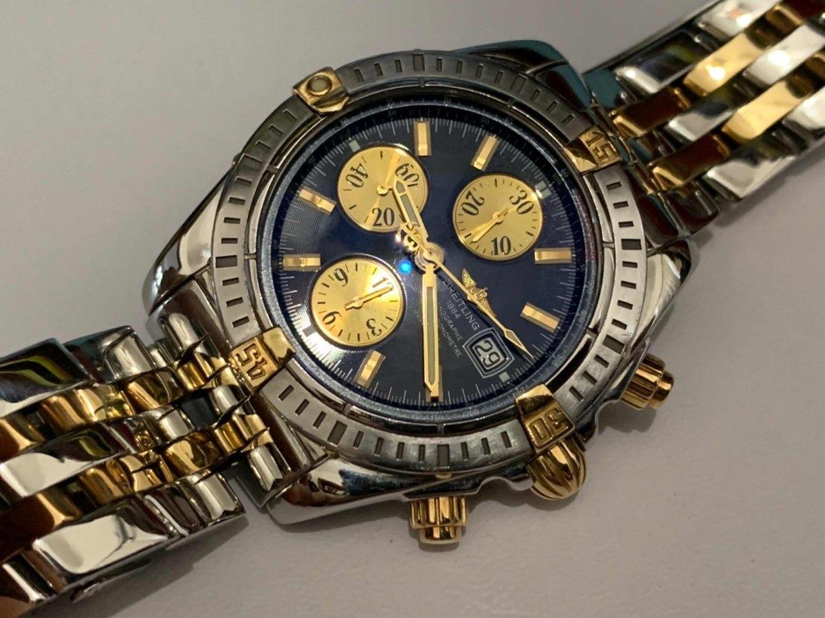 best sneakers 13880 56653 Breitling Chronomat Acero Oro 18k Evolution 43mm B13356 Sub - $ 89,999.00