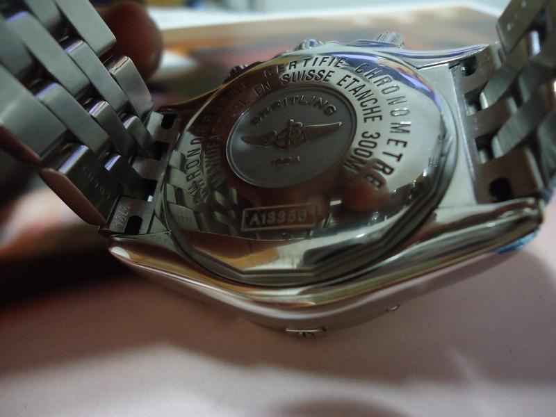 91170deed8f Breitling Chronomat Evolution Automatico A13356 - R  12.999
