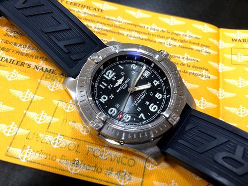 breitling colt chronometer quartz 500m 41mm documentado top