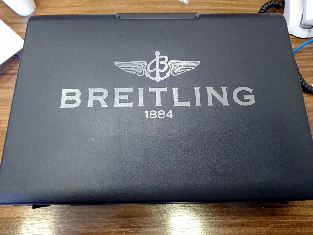 ca66c7ba51f Breitling Emergency Ref. E56121.1 Com Estojo - R  15.200