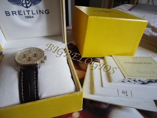 breitling navitimer d30022 ouro/aco