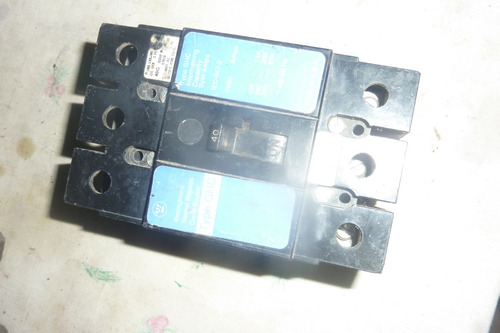 breker industrial westinghouse tipo  3 polos 40 a