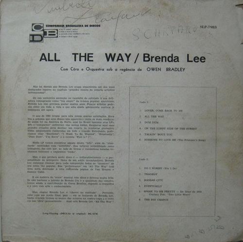 brenda lee all the way