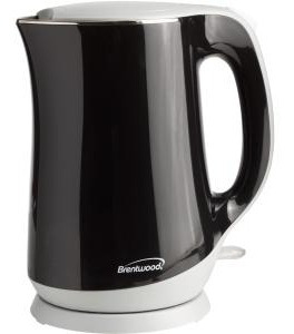 brentwood appliances 1.7l cool touch electric kettle
