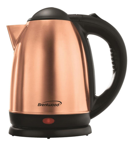 brentwood appliances 1.7l de acero inoxidable