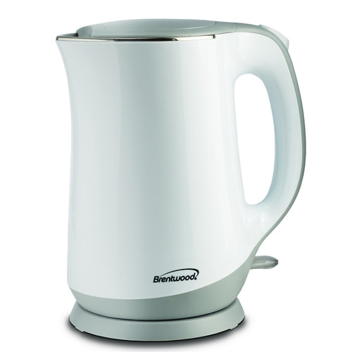 brentwood appliances 1.7l electric kettle wht
