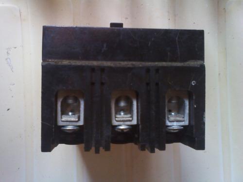 brequera trifásico 60amp general electric negociable