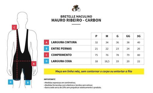 bretelle mtb/speed mauro ribeiro carbon 2.0 (p a 3g)+ brinde