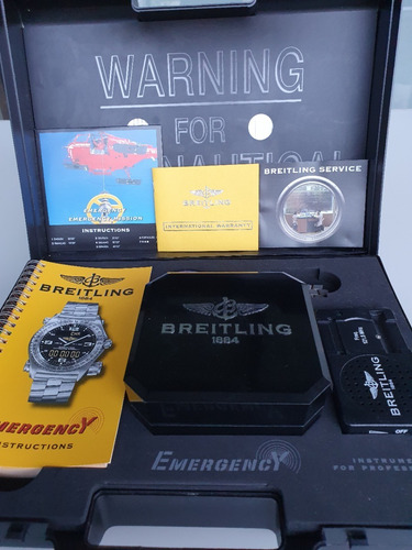 bretiling emergency i supercuarzo lcd titanio