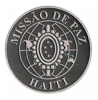brevê emborrachado missão de paz haiti