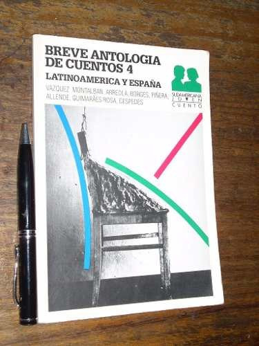 breve antología de cuentos 4 latinoamerica y españasudameri
