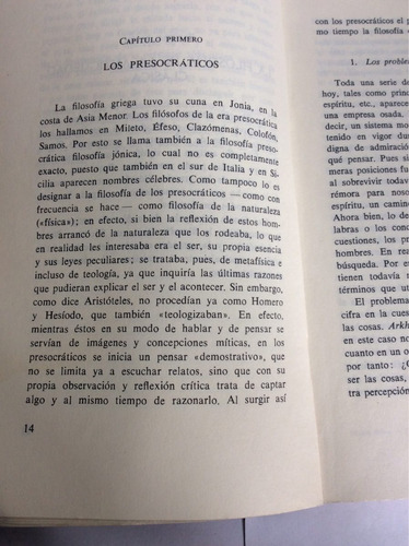 breve historia de la filosofía johannes hirschberger