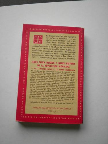 breve historia de la revolución mexicana. tomo i
