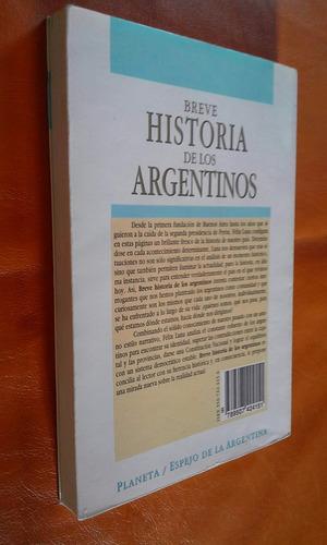 breve historia de los argentinos/felix luna