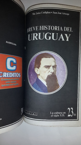 breve historia del uruguay,  24 fasc, coolighan - arteaga