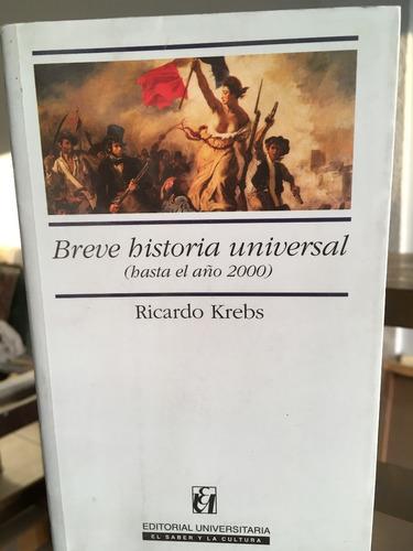 breve historia universal (hasta el año 2000)