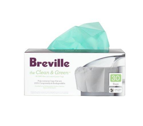 breville bje030 limpio y verde bolsas biodegradables recipi