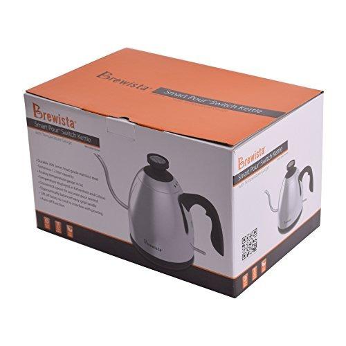 brewista smartpour switch cupping hervidor de agua con tempe