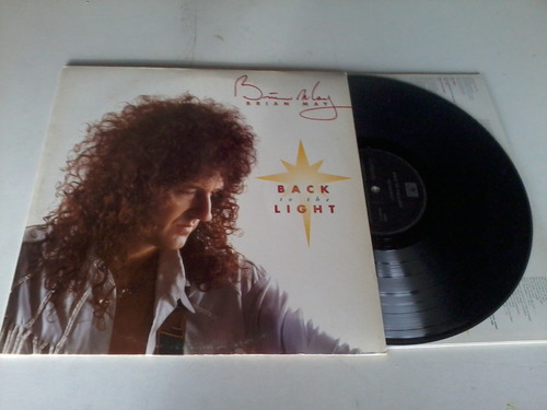 brian may - back to light lp nacional raro promo queeen