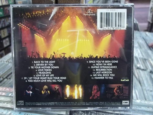 brian may band (queen) live briston academy cd original raro