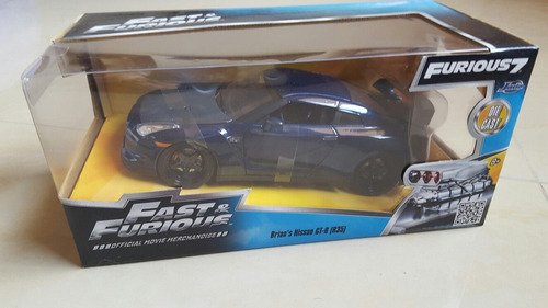 brian's nissan gt-r fast and furios