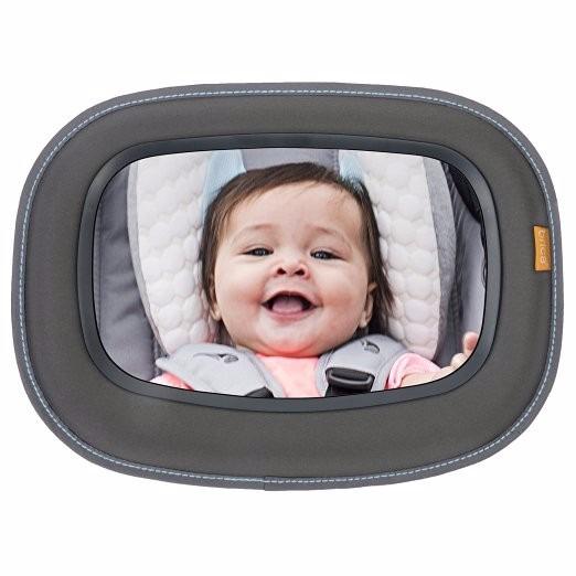 Brica espejo de carro beb a la vista para seguridad en for Espejo de bebe para auto