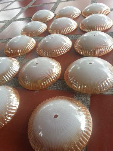 bricero cristal opalizado lampara precio x c/u zapotes
