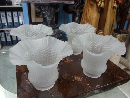 bricero repuesto lampara de cristal precio x c/u x 4