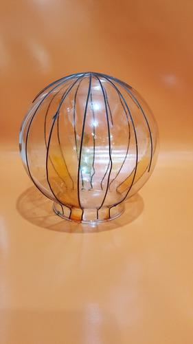 bricero repuesto lampara transparente redondo