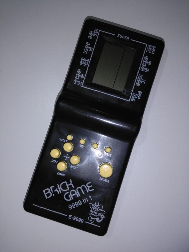Brick Game Tradicional Tetris E 9999 Juegos 220 00 En Mercado Libre