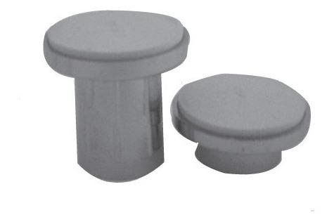 brida cortinero pvc cromado mod 5095 accesorio metalflu