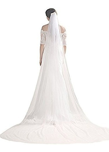 bridalvenus velo de boda velo de catedral novia velo velo co