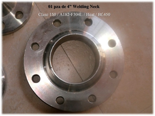Bridas flanges 1 2 1 2 y 4 pulgadas acero inoxidable sw - Bridas acero inoxidable ...