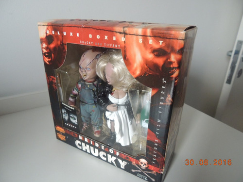 Bride Of Chucky Tiffany Movie Maniacs Mc Farlane Coleção - R  639,60 ... 7edb458c4a