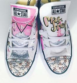 High Bride De Novia Tops Custom Zapatos Platform Conv Nnwvm08O